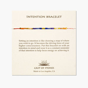 Cast Of Stones Intention Bracelets - Wanderlustre