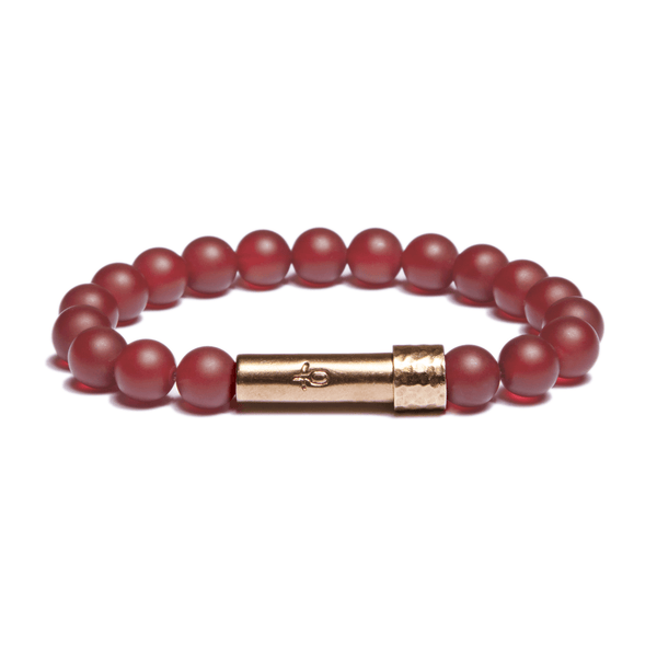 Wishbeads Creativity + Passion Bracelet in Carnelian