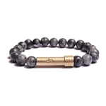 Load image into Gallery viewer, Wishbeads Labradorite Bracelet - Clarity + Imagination - Wanderlustre