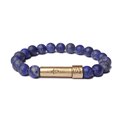 Wishbeads Love + Protection Bracelet in Lapis Lazuli