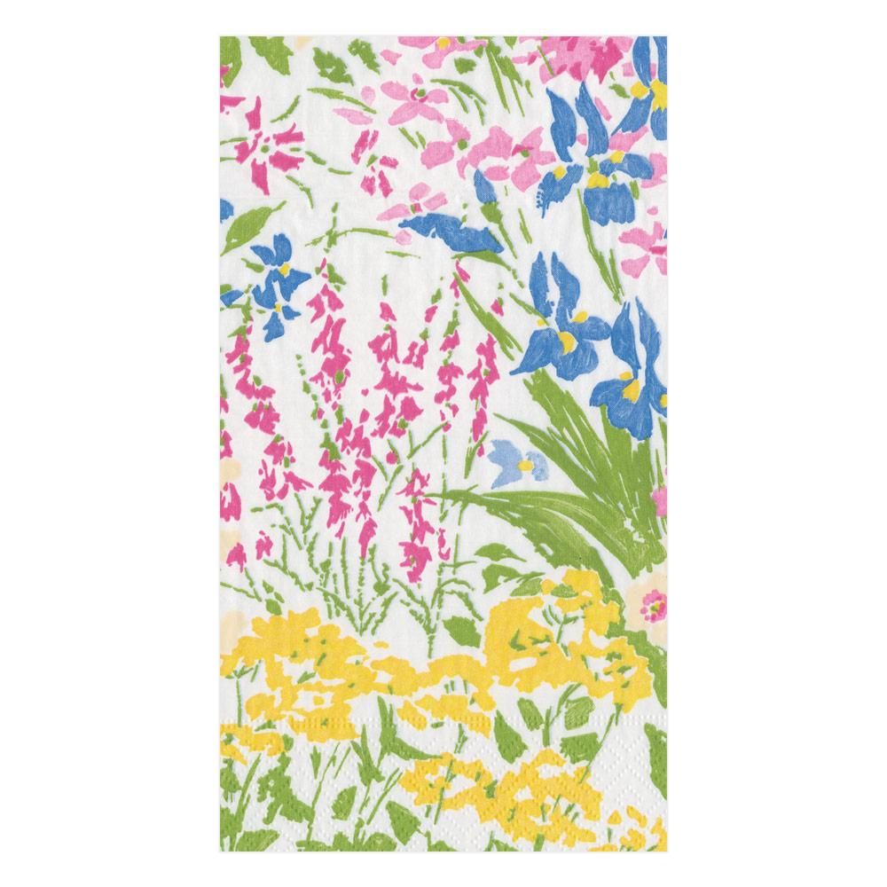 Meadow Flowers Paper Guest Towel Napkins (pack of 15)
