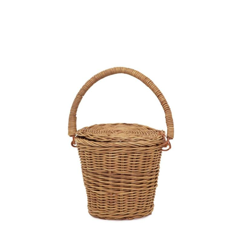 Olli Ella Rattan Small Apple Basket