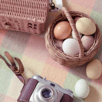 Load image into Gallery viewer, Olli Ella Rattan Berry Basket