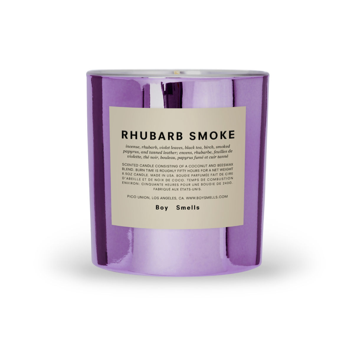 Boy Smells Candle - Rhubarb Smoke