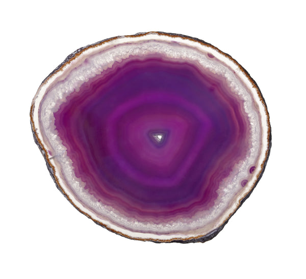 Agate Coasters- Set of 4