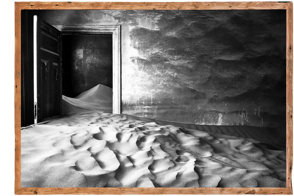 Sand-Filled Room Canvas by David Ballam