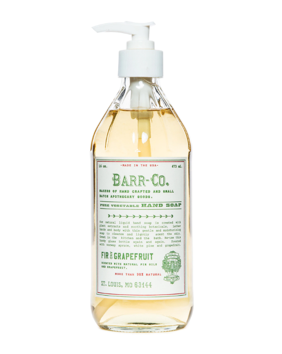 Barr-Co. Fir & Grapefruit Liquid Hand Soap