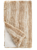 Load image into Gallery viewer, Couture Collection Blonde Mink Faux Fur Throw