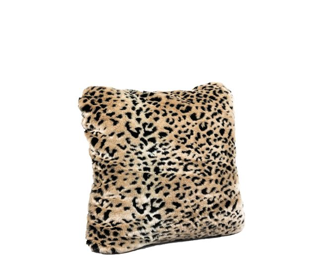 Signature Series Cheetah Faux Fur Pillow