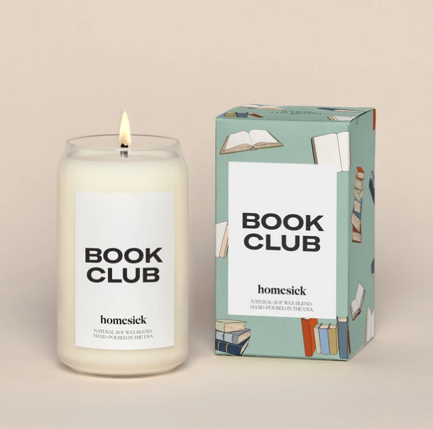 Homesick Book Club Candle