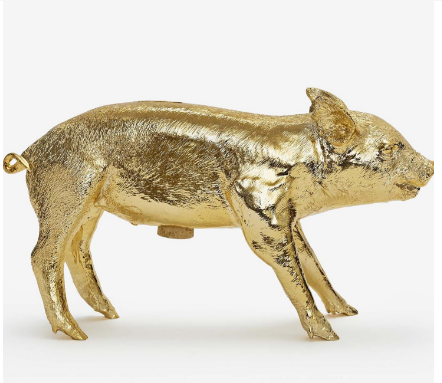 Reality Bank in the Form of a Pig by Harry Allen