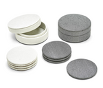 Load image into Gallery viewer, Set of 4 Shagreen Coasters in Gift Box - Wanderlustre