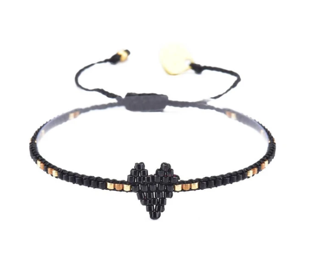 Mishky Heart Beaded Bracelet