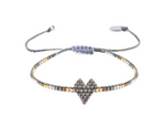 Load image into Gallery viewer, Mishky Heart Beaded Bracelet