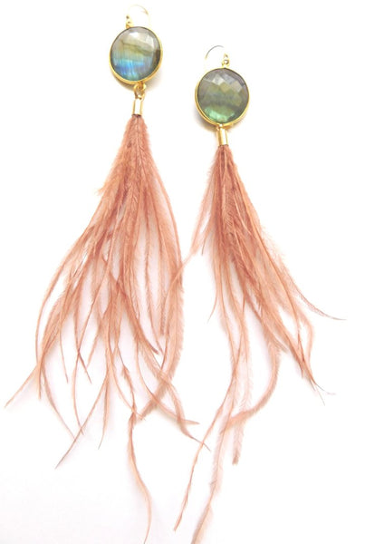 Heather Kahn Sensei Feather Earrings