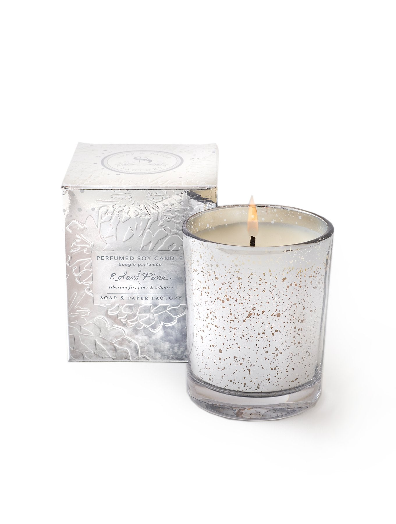 Roland Pine Lumiere Single-Wick Soy Candle - Wanderlustre