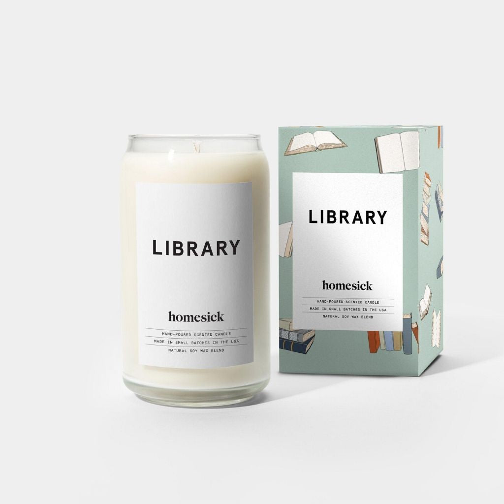 Homesick Library Candle - Wanderlustre