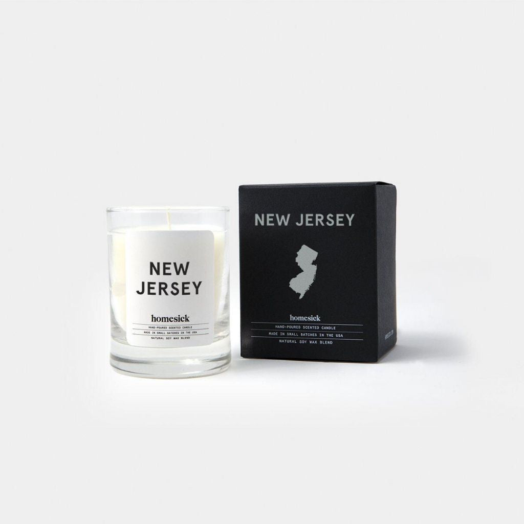 Homesick New Jersey Mini Candle - Wanderlustre