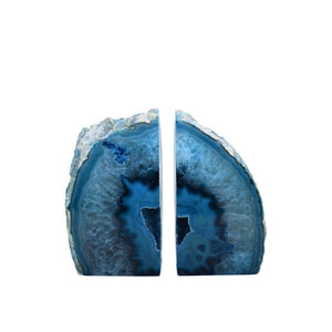 Agate Bookends - Wanderlustre
