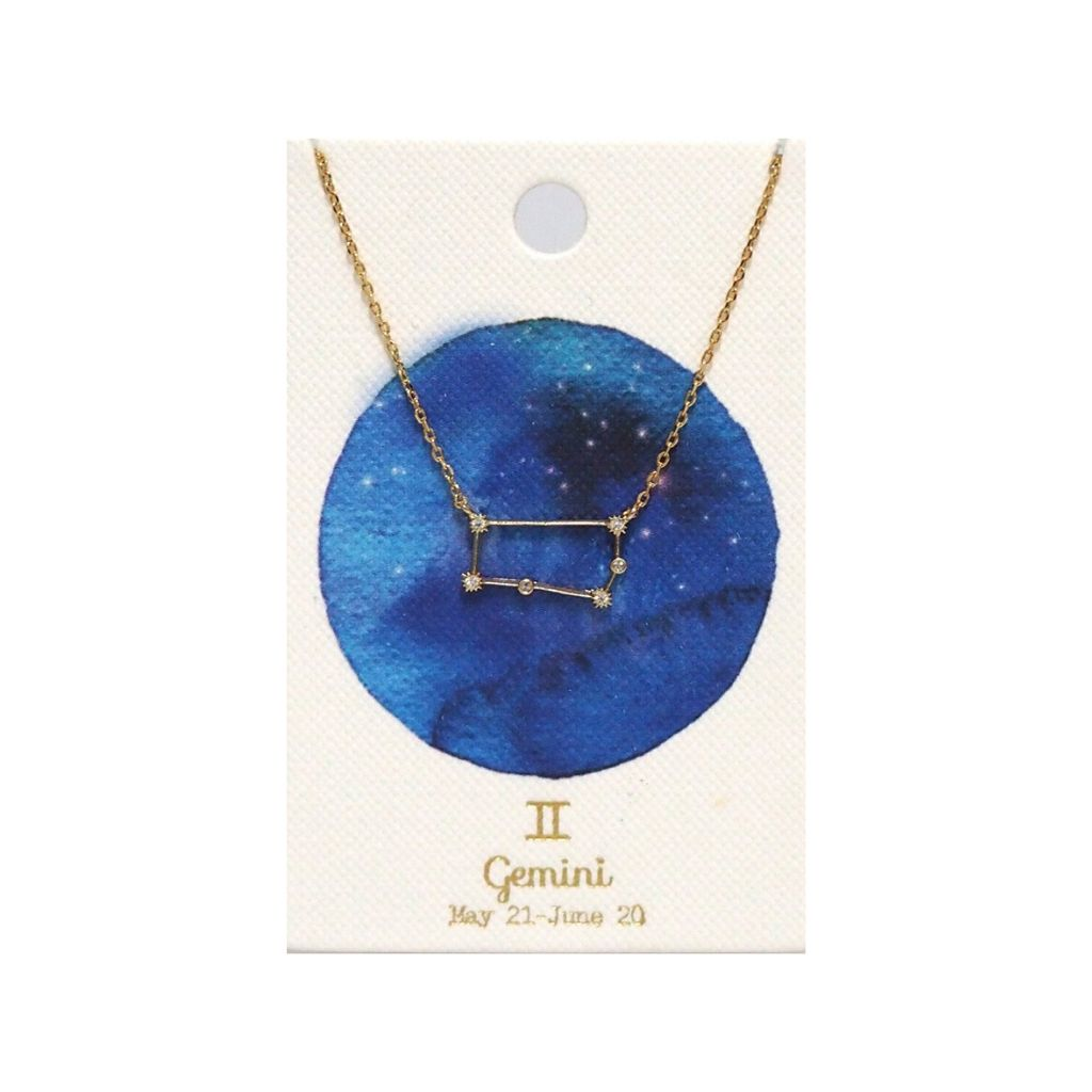 TAI Zodiac Constellation Necklace - Wanderlustre