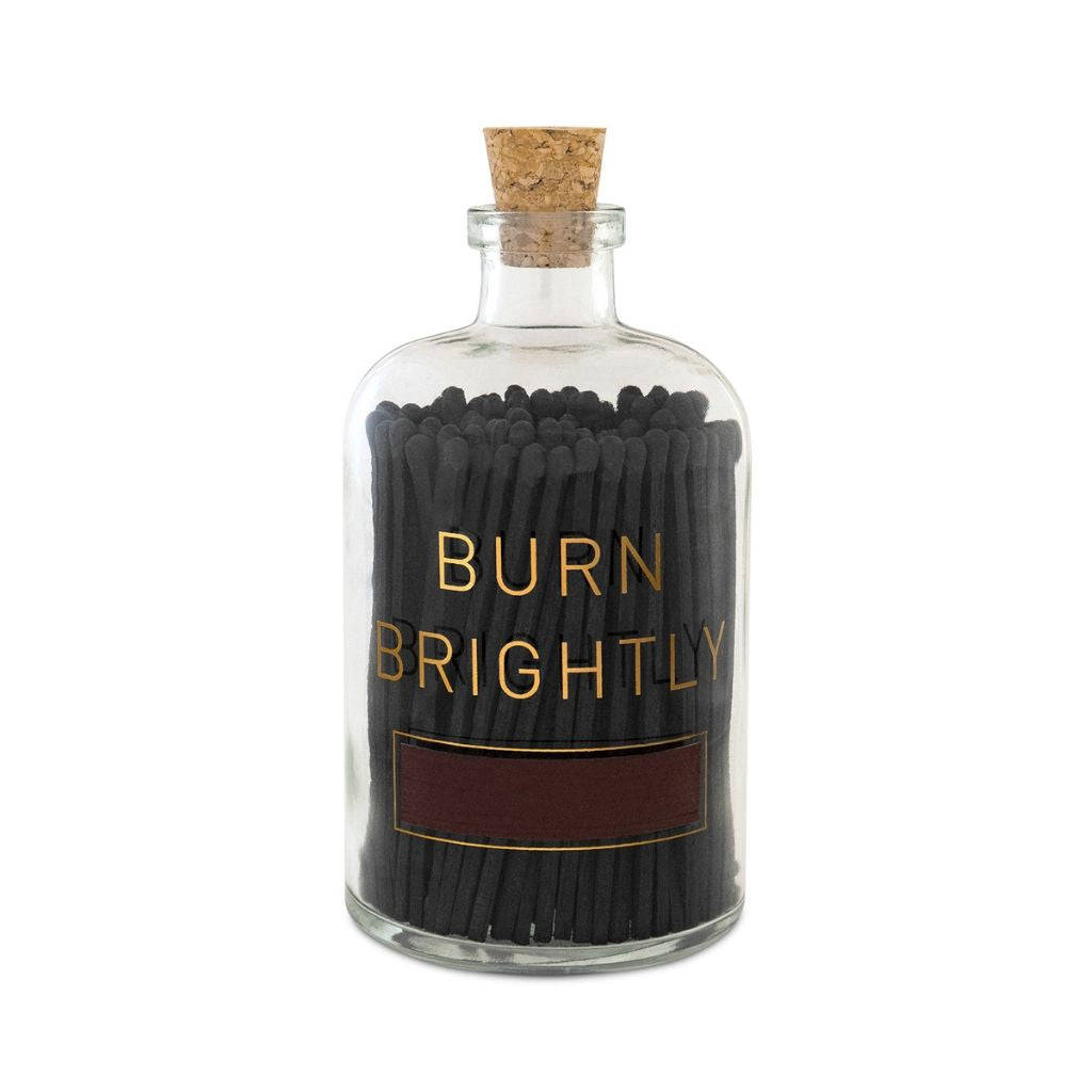 Burn Brightly Match Bottle - Wanderlustre