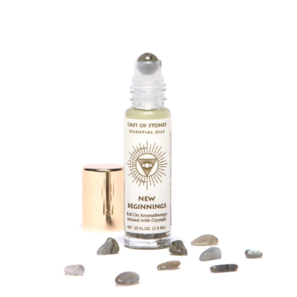 Cast of Stones New Beginnings Roll-On Aromatherapy - Wanderlustre