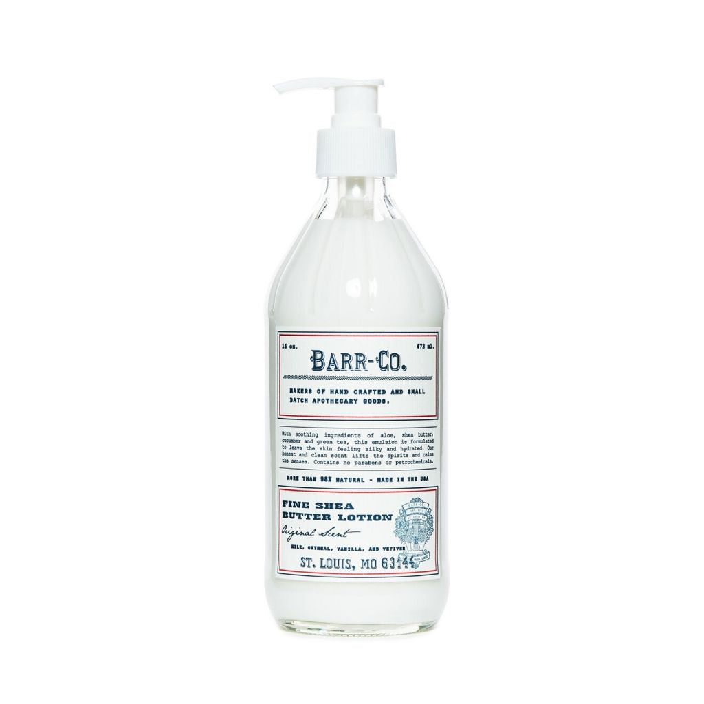 Barr-Co. Original Scent Shea Butter Lotion - Wanderlustre