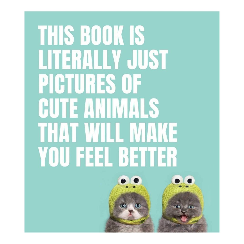 This Book Is Literally Just Pictures of Cute Animals That Will Make You Feel Better - Wanderlustre