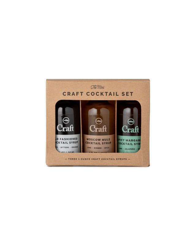 The Mini Craft Cocktail Syrup Set