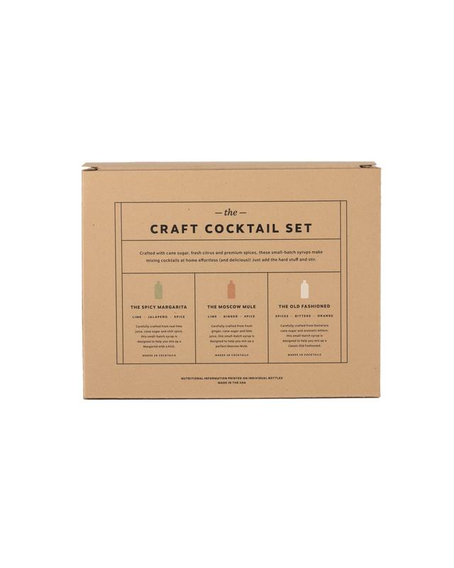 The Craft Cocktail Syrup Set