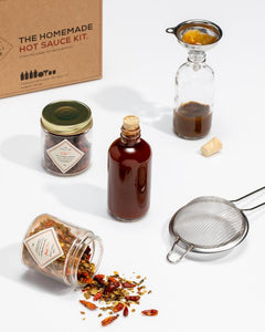 The Homemade Hot Sauce Kit - Wanderlustre