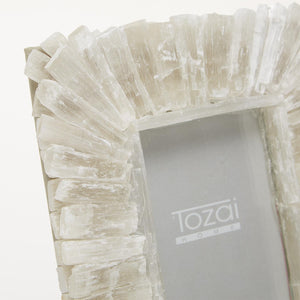 Selenite Photo Frame