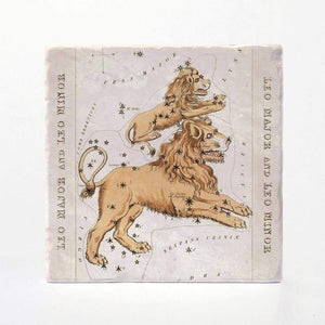 Vintage Zodiac Coaster Tiles - Set of 4 - Wanderlustre