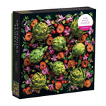 Load image into Gallery viewer, Artichoke Floral 500-Piece Puzzle - Wanderlustre