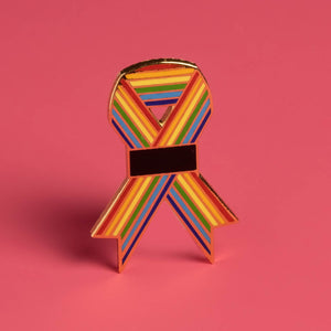 Orlando Ribbon Project Enamel Pin - Wanderlustre