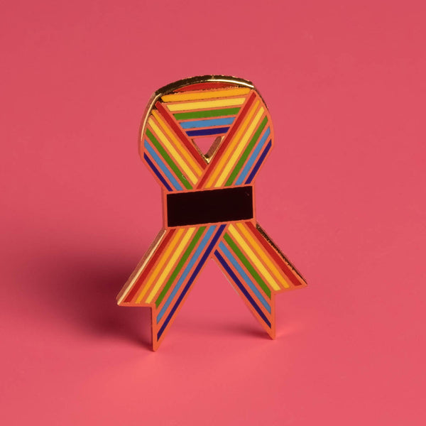 Dissent Pins - Orlando Ribbon Project Enamel Pin