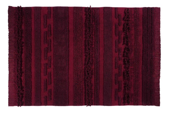 Air Washable Rug - Savannah Red - Wanderlustre