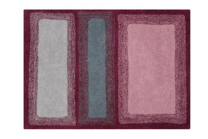 Water Washable Rug - Savannah Red - Wanderlustre