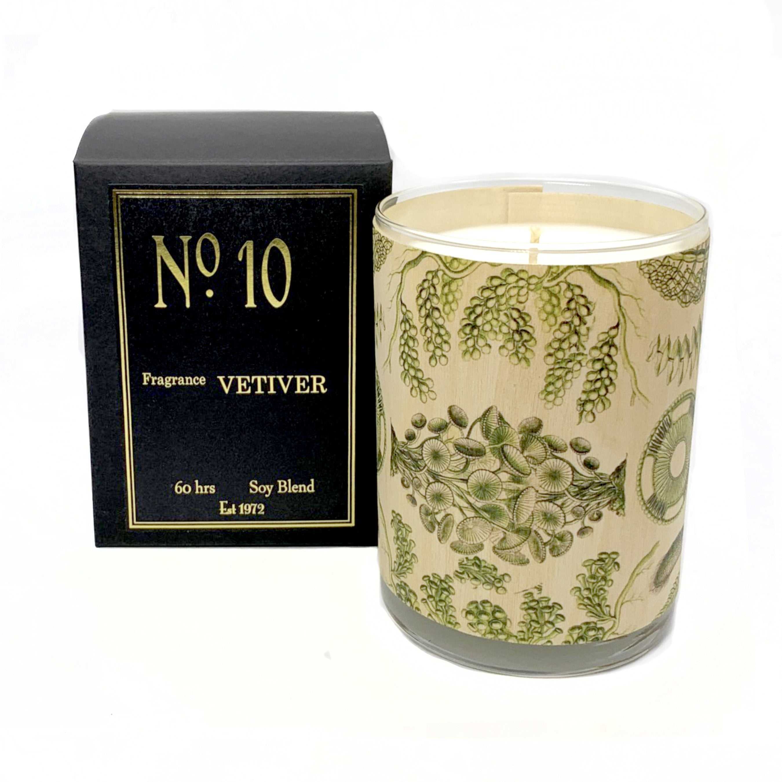 Wood Candle - No. 10 - Vetiver