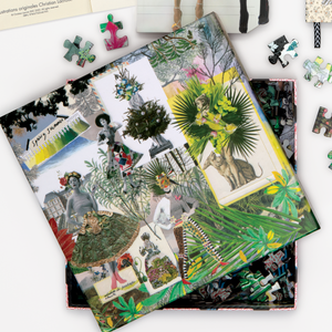 Christian Lacroix Heritage Collection Fashion Season Double-Sided 500-Piece Jigsaw Puzzle