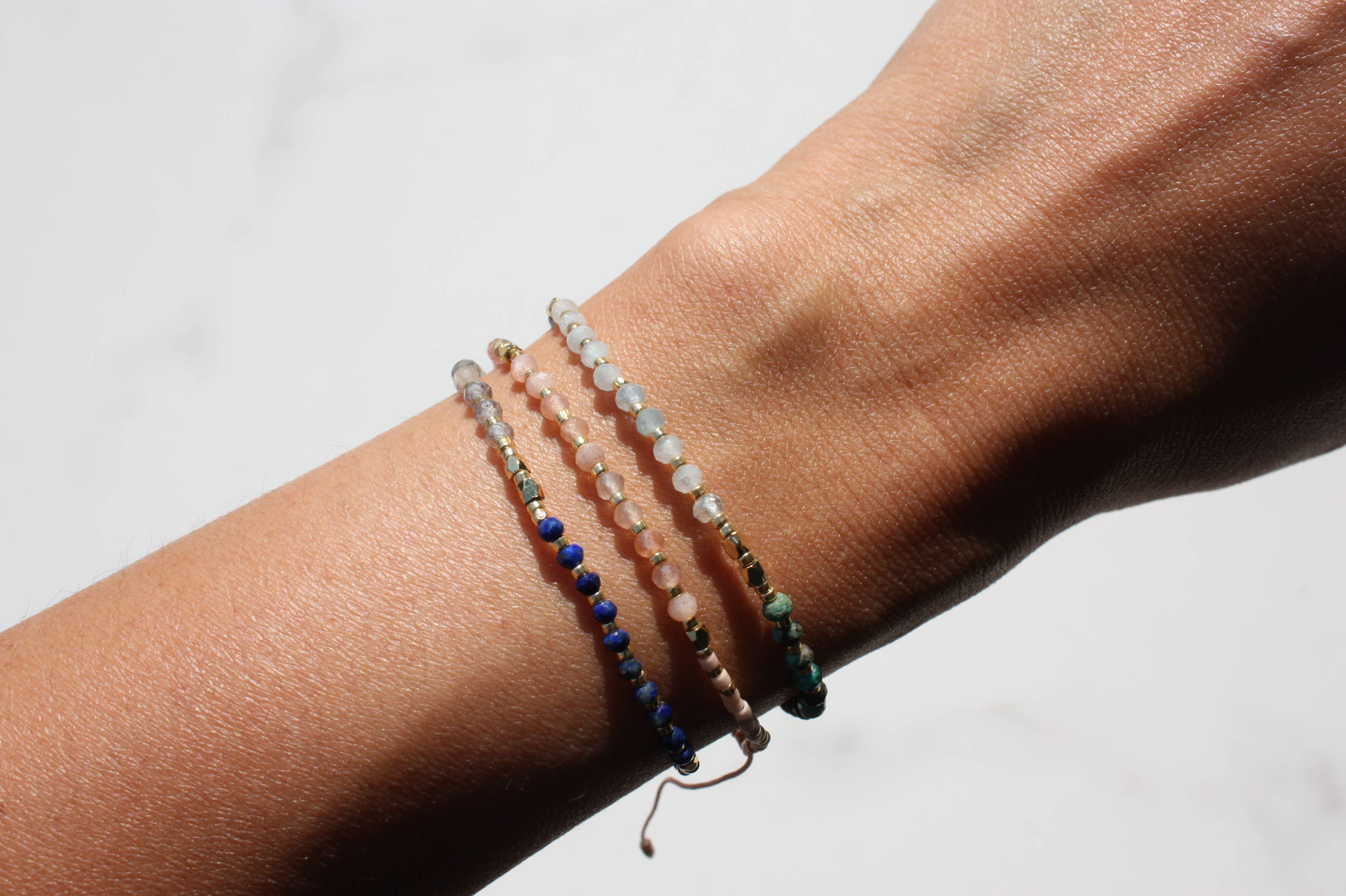 Good Vibes Gemstone Bracelet Bundle