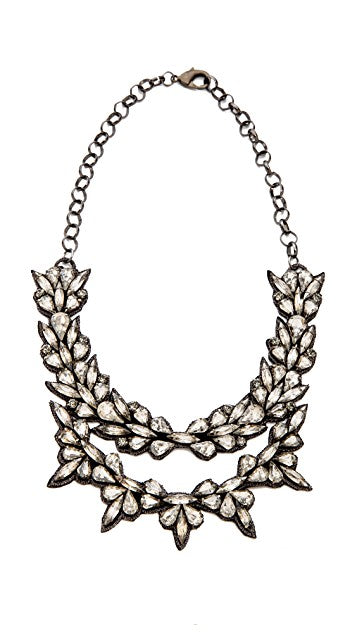 Crystal Layered Necklace - Wanderlustre
