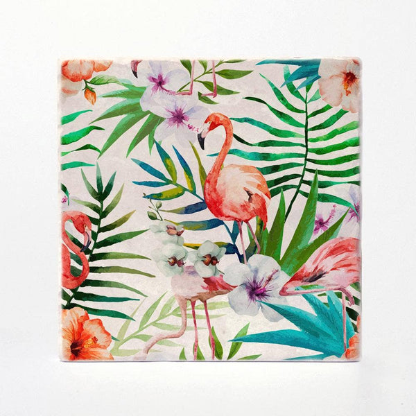 Versatile Coasters - Tropical Coaster Tiles - Set of 4