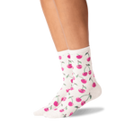 Load image into Gallery viewer, Women's Cherry Crew Socks - Wanderlustre