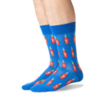 Load image into Gallery viewer, Men's Hot Sauce Crew Socks