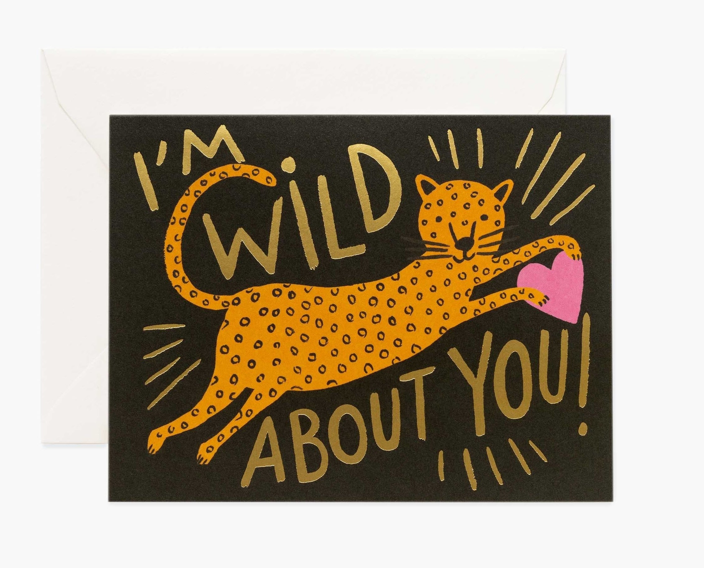 I'm Wild About You Cards (box of 8 cards)
