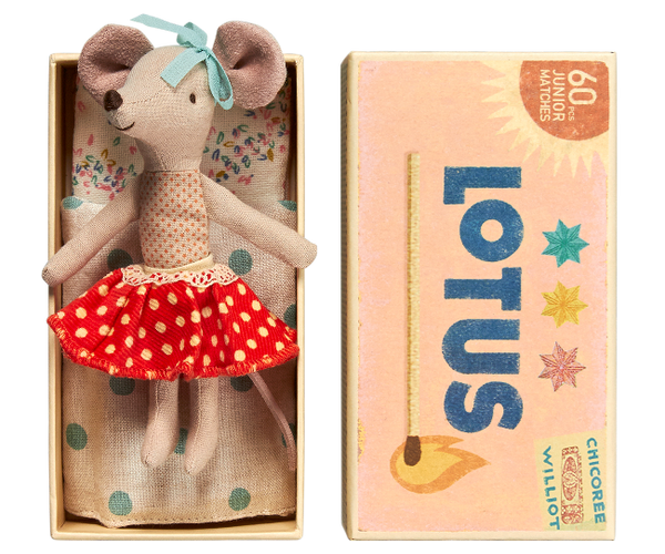 Maileg Big Sister Mouse Toy in Box