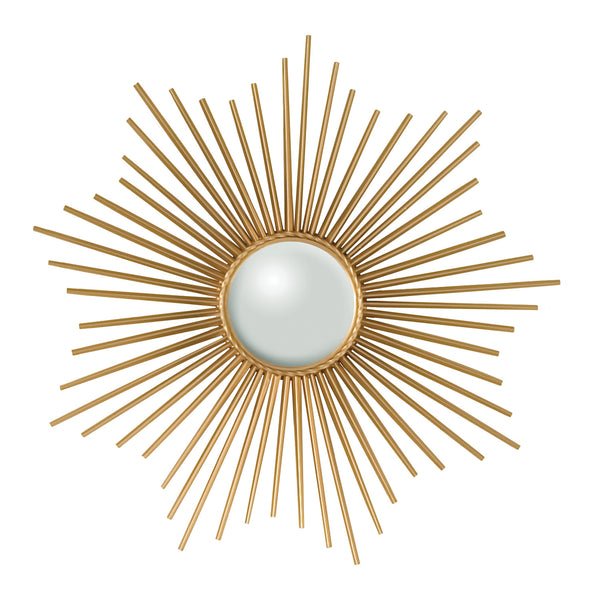 Starburst Brass Mirror