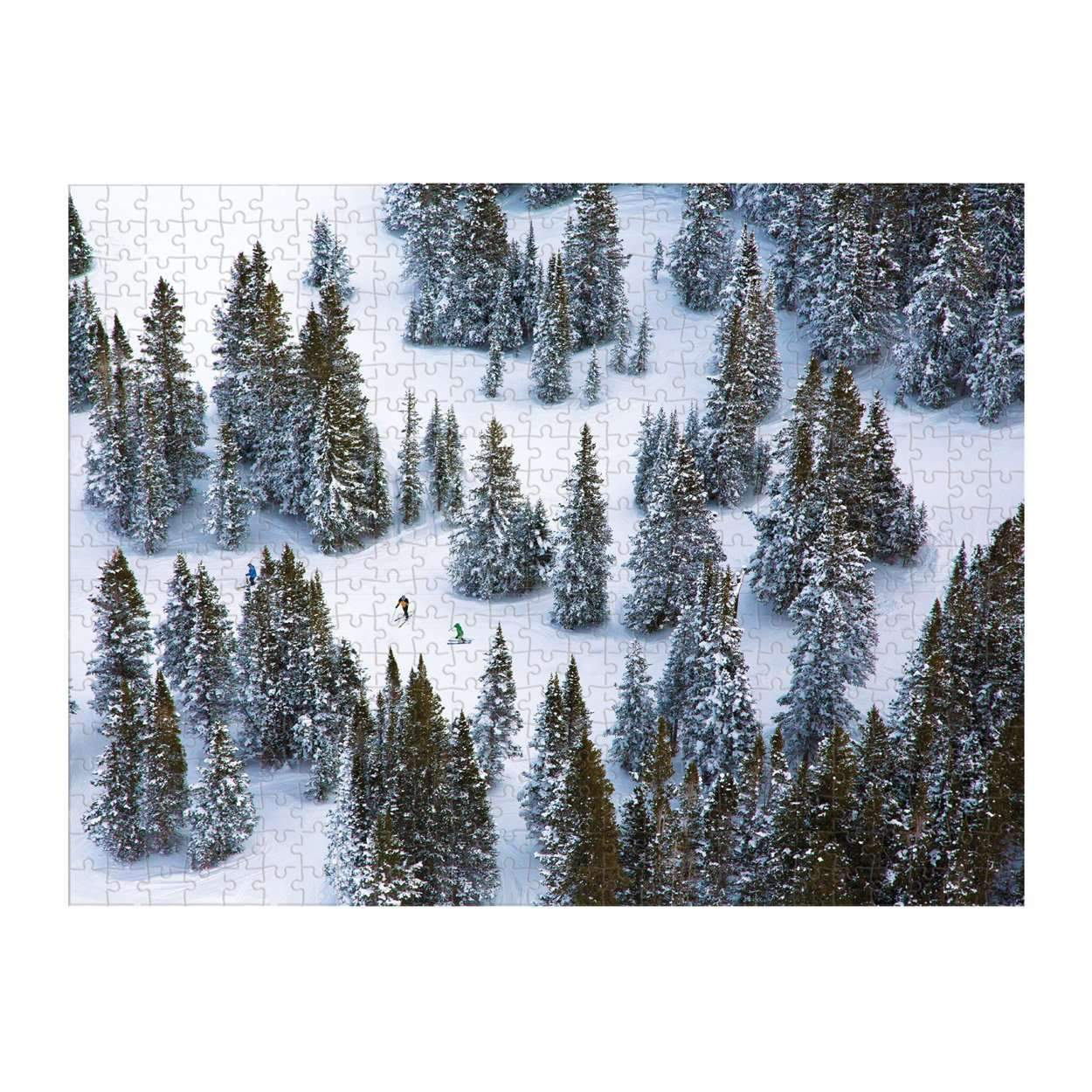 Gray Malin The Snow Double Sided 500-Piece Jigsaw Puzzle