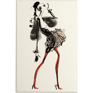 Christian Lacroix Haute Couture Die-Cut Boxed Notecards - Wanderlustre